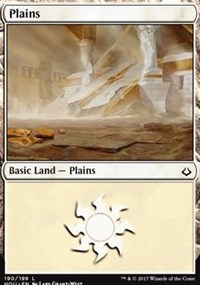 Plains (190) card from Hour of Devastation