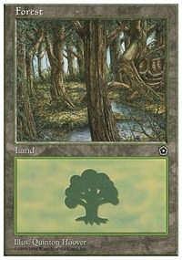 Forest (Portal Second Age) card from Anthologies