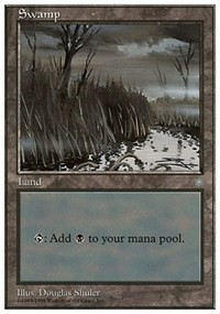 Swamp (Ice Age) card from Anthologies