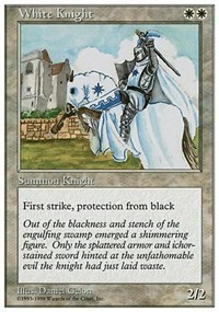 White Knight card from Anthologies