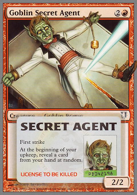 Goblin Secret Agent