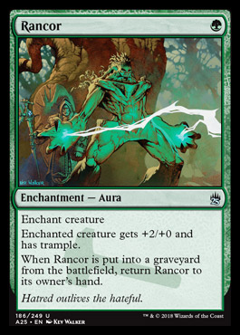 Rancor card from Masters 25