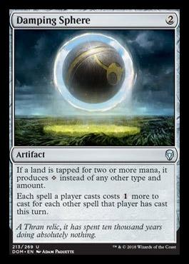 Damping Sphere original card image