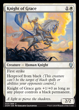 Knight of Grace original card image