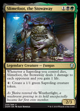 Slimefoot, the Stowaway original card image