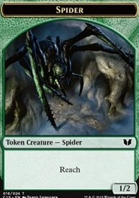 Spider // Dragon Double-Sided Token