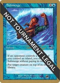 Submerge - 2000 Tom van de Logt (NMS) (SB)