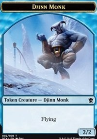 Djinn Monk Token