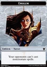 Emblem - Narset Transcendent