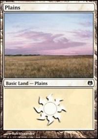 Plains (39) card from Duel Decks: Heroes vs. Monsters