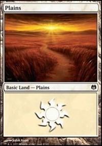 Plains (40) card from Duel Decks: Heroes vs. Monsters