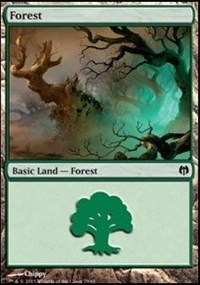 Forest (79) card from Duel Decks: Heroes vs. Monsters