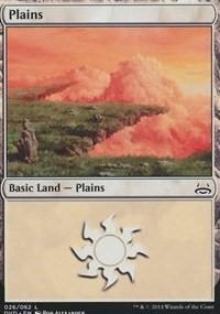 Plains (26) (Divine vs. Demonic) card from Duel Decks: Anthology