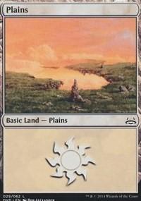Plains (29) (Divine vs. Demonic) card from Duel Decks: Anthology