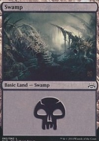 Swamp (62) (Divine vs Demonic) card from Duel Decks: Anthology