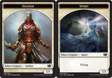 Soldier // Spirit Double-sided Token