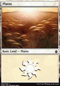 Plains (285) card from Commander Anthology