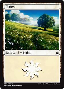 Plains (286) card from Commander Anthology