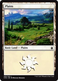 Plains (289) card from Commander Anthology