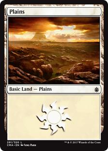 Plains (291) card from Commander Anthology