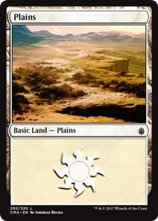 Plains (292) card from Commander Anthology