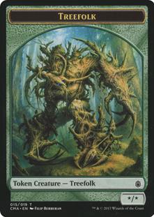 Treefolk Token (015)