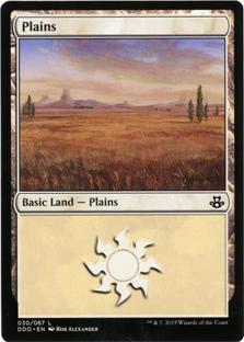 Plains (30) card from Duel Decks: Elspeth vs. Kiora
