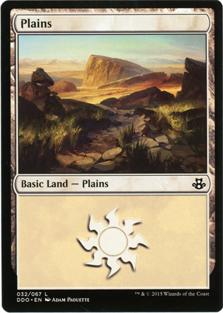 Plains (32) card from Duel Decks: Elspeth vs. Kiora