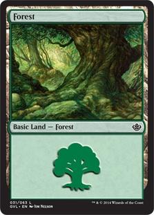 Forest (31) (Garruk vs Liliana)