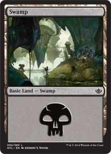 Swamp (62) (Garruk vs Liliana) card from Duel Decks: Anthology
