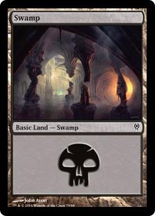 Swamp (79) card from Duel Decks: Jace vs. Vraska