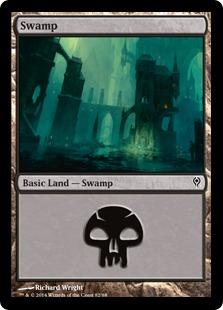 Swamp (82) card from Duel Decks: Jace vs. Vraska