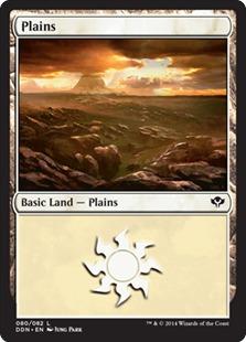 Plains (80) card from Duel Decks: Speed vs. Cunning