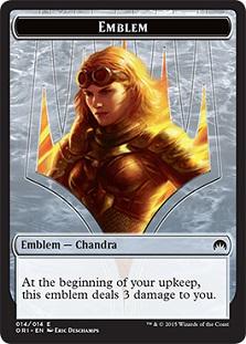 Emblem - Chandra, Roaring Flame