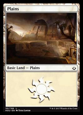 Plains (191) card from Hour of Devastation