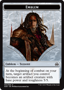 Emblem - Tezzeret the Schemer