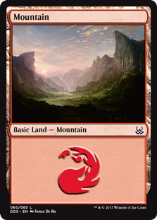 Mountain (60) card from Duel Decks: Mind vs. Might