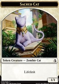 Sacred Cat // Insect Token