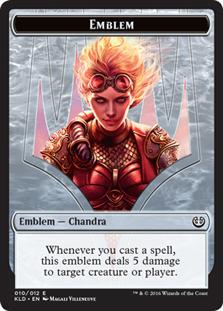 Emblem - Chandra, Torch of Defiance