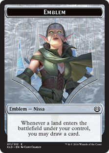 Emblem - Nissa, Vital Force