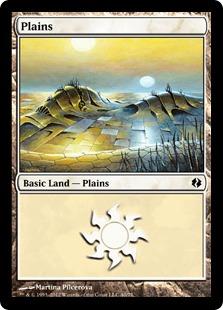 Plains (40) card from Duel Decks: Venser vs. Koth