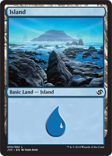 Island (30) (Jace vs. Chandra) card from Duel Decks: Anthology