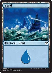 Island (32) (Jace vs. Chandra) card from Duel Decks: Anthology