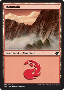 Mountain (59) (Jace vs Chandra) card from Duel Decks: Anthology