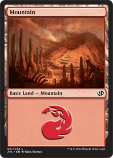 Mountain (61) (Jace vs Chandra) card from Duel Decks: Anthology