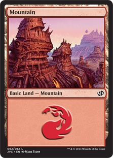 Mountain (62) (Jace vs Chandra) card from Duel Decks: Anthology