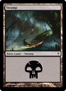 Swamp (36) card from Duel Decks: Sorin vs. Tibalt