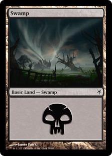 Swamp (78) card from Duel Decks: Sorin vs. Tibalt