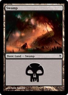 Swamp (79) card from Duel Decks: Sorin vs. Tibalt