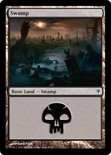 Swamp (80) card from Duel Decks: Sorin vs. Tibalt